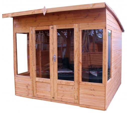 Mercia 8ft x 8ft Premium Helios Summerhouse