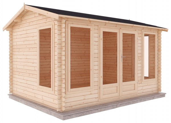 Mercia 4m x 3m Home Office Log Cabin