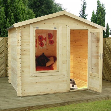 Mercia 2.5m x 2m Log Cabin