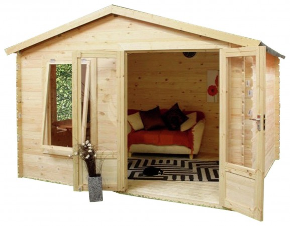 Mercia 3.3m x 3m Log Cabin