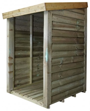 Mercia 3ft x 3ft Pressure Treated Log Store