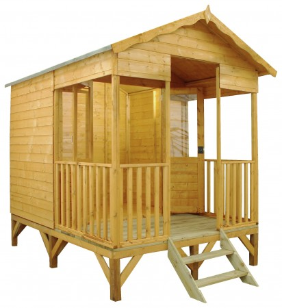 Mercia 11ft x 8ft Premium Beach Hut Summerhouse
