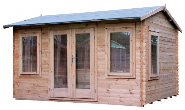 Mercia 4m x 3m Sun Room Log Cabin