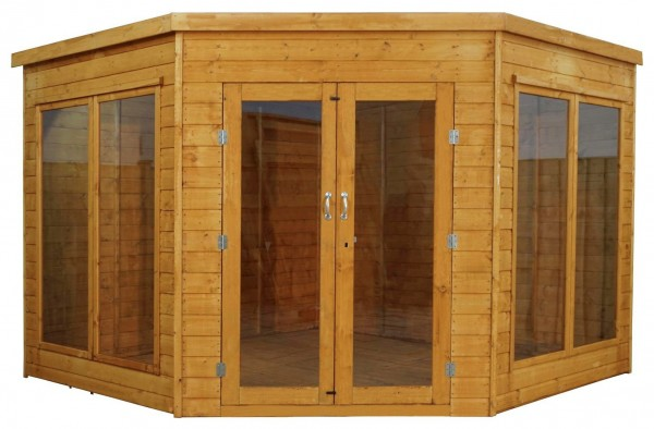 Mercia 9ft x 9ft Premium Corner Summerhouse