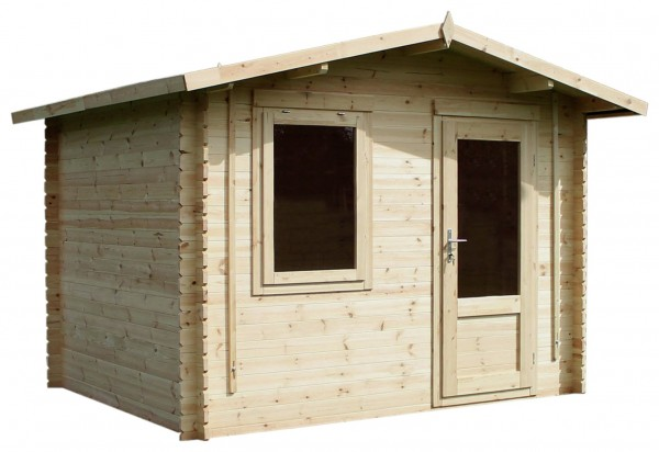 Mercia 3.2m x 2.8m Log Cabin