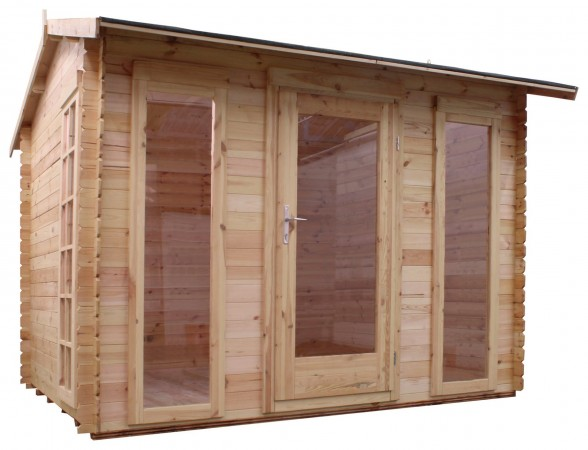 Mercia 3m x 2.5m Log Cabin