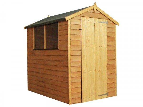 Mercia Wooden 6 x 4ft Overlap Garden Shed