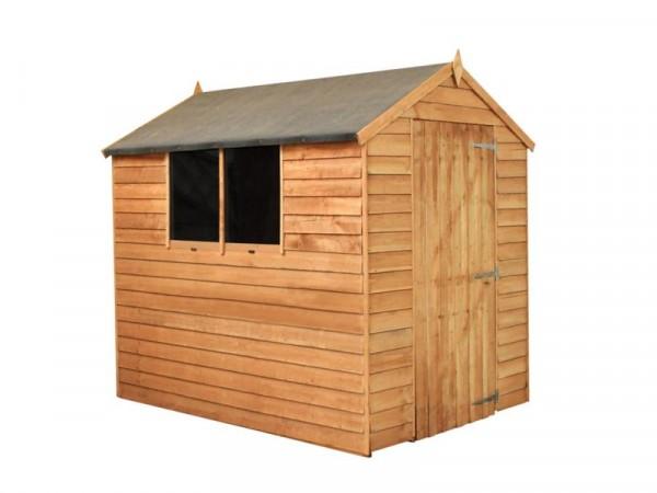 Mercia Wooden 7 x 5ft Overlap Garden Shed