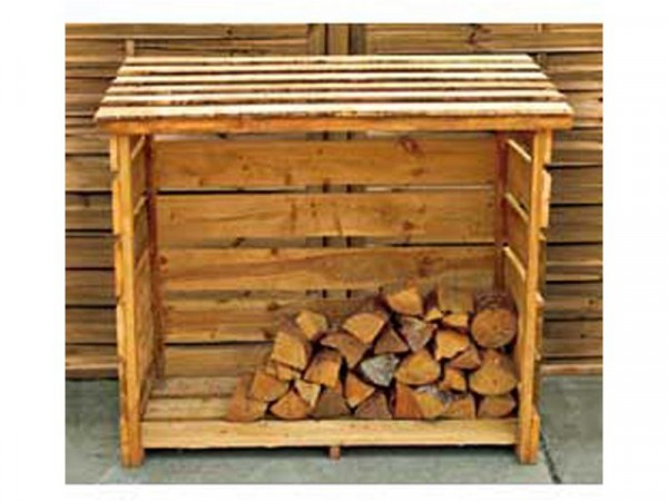 Garden Wooden Log Store