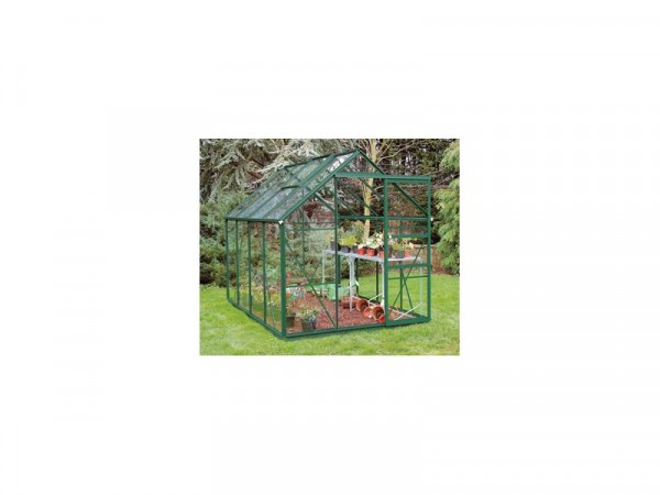 GREEN 68 GREENHOUSE N BASE WITH HORTICUL