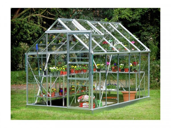ALUMINIUM 610 GREENHOUSE N BASE WITH HOR