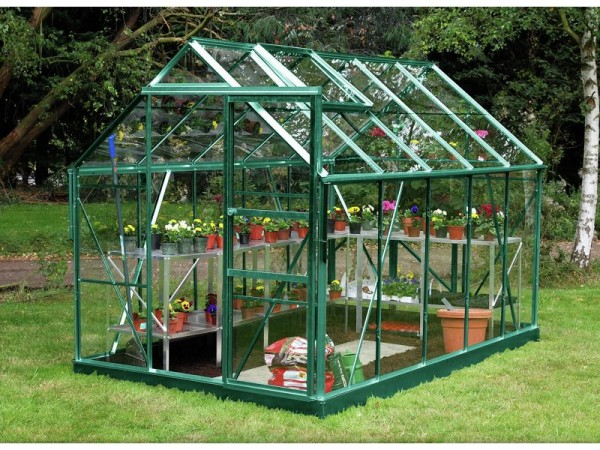 GREEN 610 GREENHOUSE N BASE WITH HORTICU