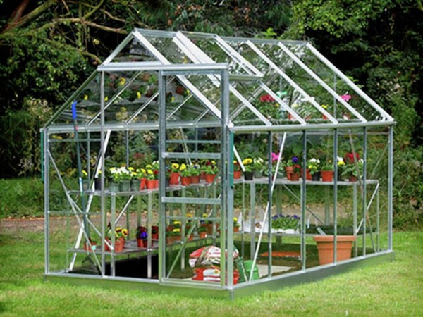GREEN 610 GREENHOUSE N BASE WITH TOUGHEN