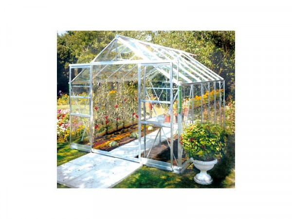 ALUMINIUM 812 DOUBLE DOOR GREENHOUSE