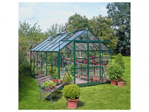 GREEN 812 DOUBLE DOOR GREENHOUSE