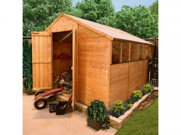 BillyOh Wooden Tongue and Groove Workshop - 10 x 10ft