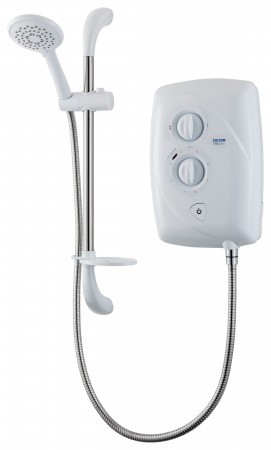 Triton T80 Easifit 8.5kW Electric Shower - White