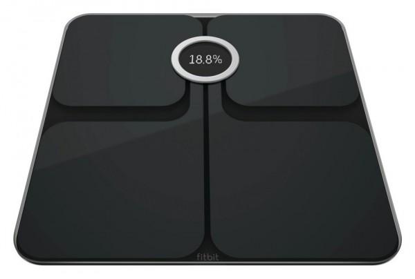Fitbit Aria 2 Wi-Fi Body Weight Analysis Scale - Black