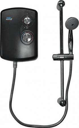 Triton Madrid 9.5kW Electric Shower - Black