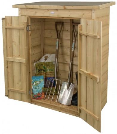 Forest Shiplap Pent Garden Store - 600 Litre