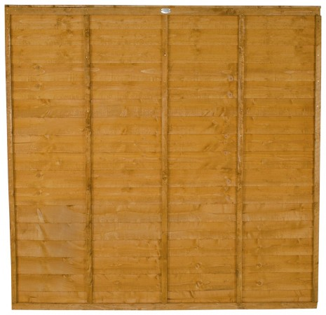 Forest Garden Premier Overlap Fence Panel - 4 Pack