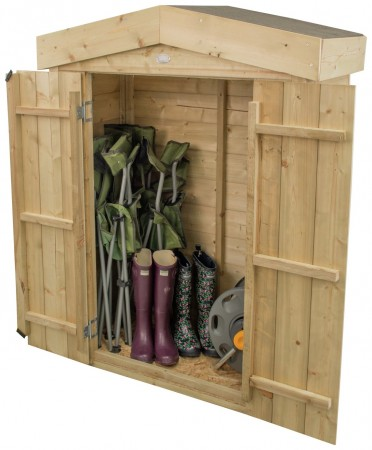 Forest Shiplap Apex Garden Store - 600 Litre