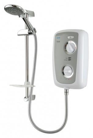 Triton Fevore 9.5kW Thermostatic Electric Shower - Grey