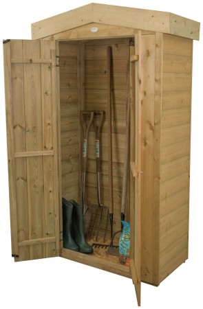 Forest Shiplap Apex Tall Garden Store - 750 Litre