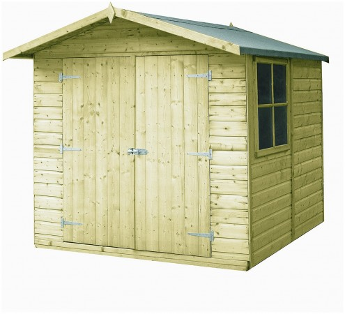 Homewood Pressure Treated Corner Shed 7 x 7ft