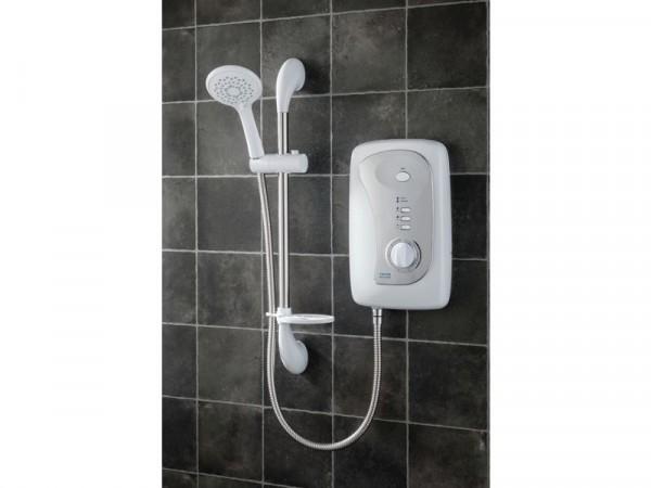 Triton Martinique 10.5kW Electric Shower - White / Chrome