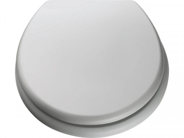 ColourMatch Moulded Wood Toilet Seat - Super White