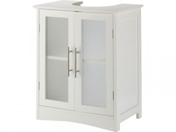 Hygena Frosted Insert Under Sink Storage Unit - White