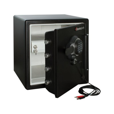 1hr Fire, Water Resistant USB Data Back Up Electronic Safe