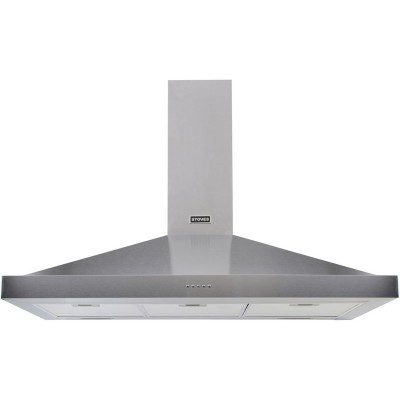Stoves 1000 STERLING 100cm Cooker Hood - S/Steel