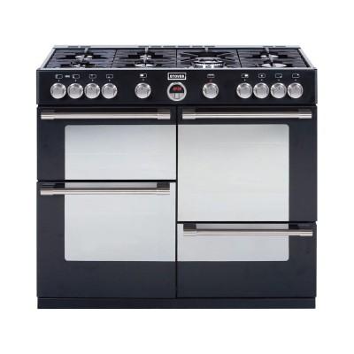 Stoves Sterling R1100GT Gas Range Cooker - Black