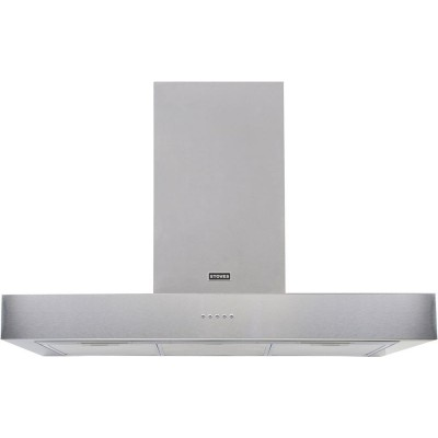 Stoves 1000 STERLING 100cm Flat Cooker Hood - S/Steel
