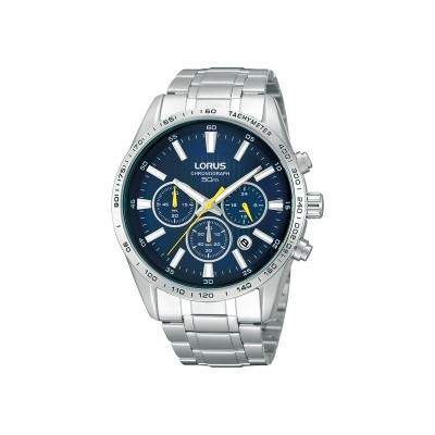 Lorus Men's Stainless Steel Chronograph Watch
