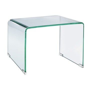 Habitat Gala Glass Side Table