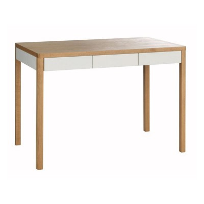 Habitat Albion 3 Drawer Desk - Oak Effect