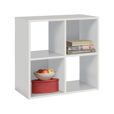 Argos Home Squares 4 Cube Storage Unit - White