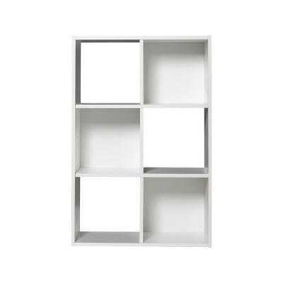 Argos Home Squares 6 Cube Storage Unit - White