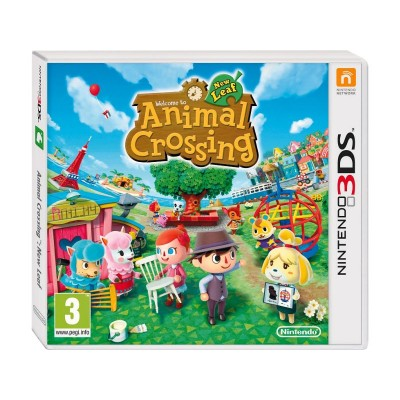 Animal Crossing New Leaf 3DS Game
