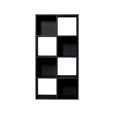 Argos Home Squares 8 Cube Storage Unit - Black