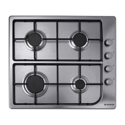 Hoover HGL64SX Gas Hob - Stainless Steel