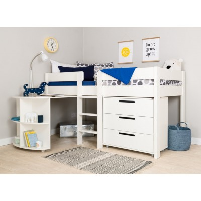 Argos Product Support for Stompa White Mid Sleeper Bed ...