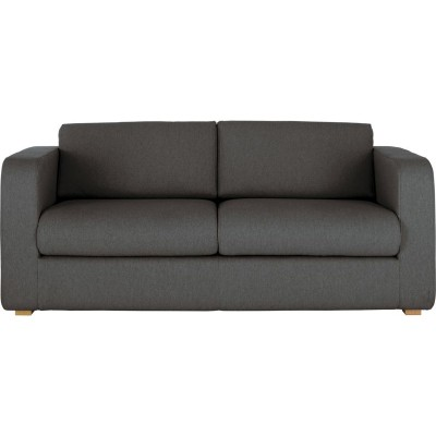 Habitat Porto Fabric 3 Seat Sofa Bed - Charcoal