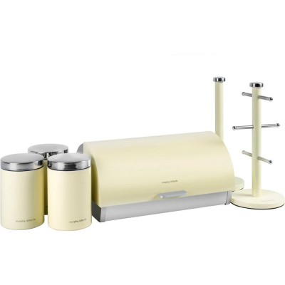 MORPHY ACCENTS 6PCE STORAGE SET CREAM