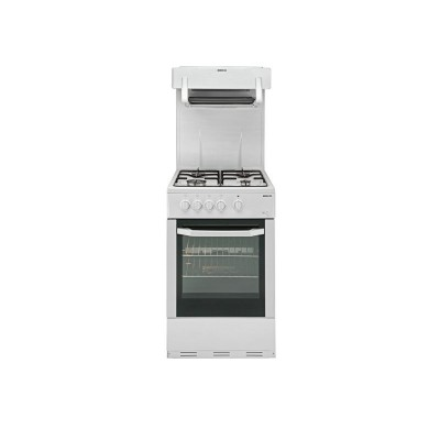 Beko BA52NEW White Single Gas Cooker - Express Delivery