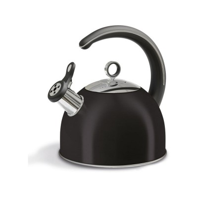 Morphy Richards Accents Whistling Stove Top Kettle - Black