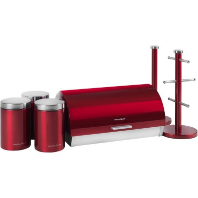 MORPHY ACCENTS 6PCE STORAGE SET RED